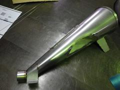 SUS304 2B 胴体部0.6t 研究用ホッパー