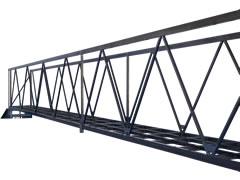 SUS304 角パイプ 約11mのメンテナンス用ハシゴ